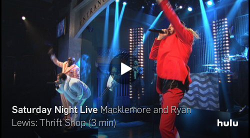 Macklemore and Ryan Lewis Kill It on SNL!