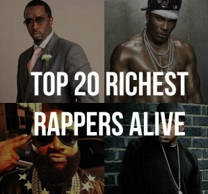 The 20 Richest Rap Moguls in the World - Musing on Music