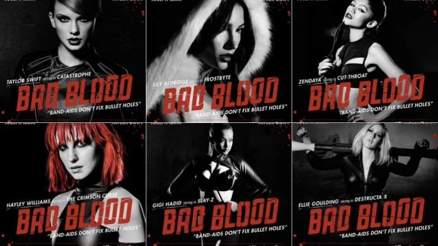 The Complete Bad Blood Cast of Taylor Swift's New Video