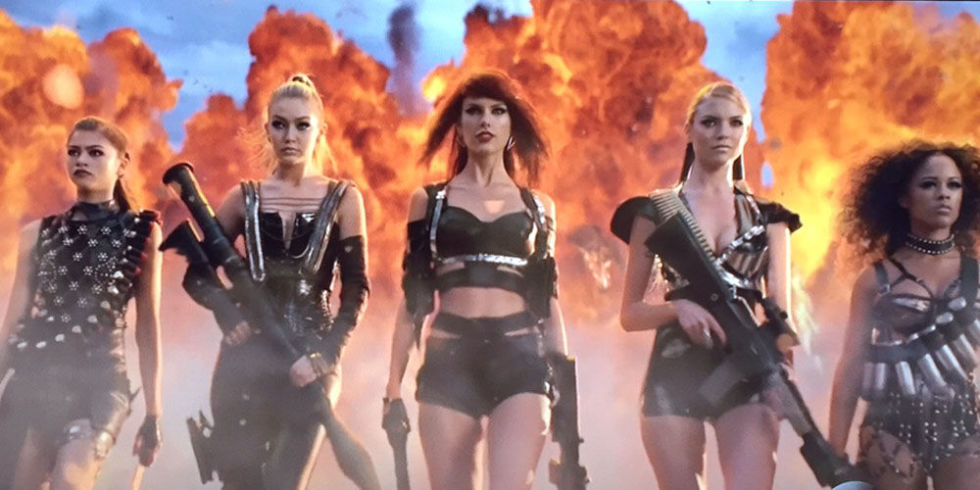 Taylor Swift Debuts Star Studded Bad Blood Video