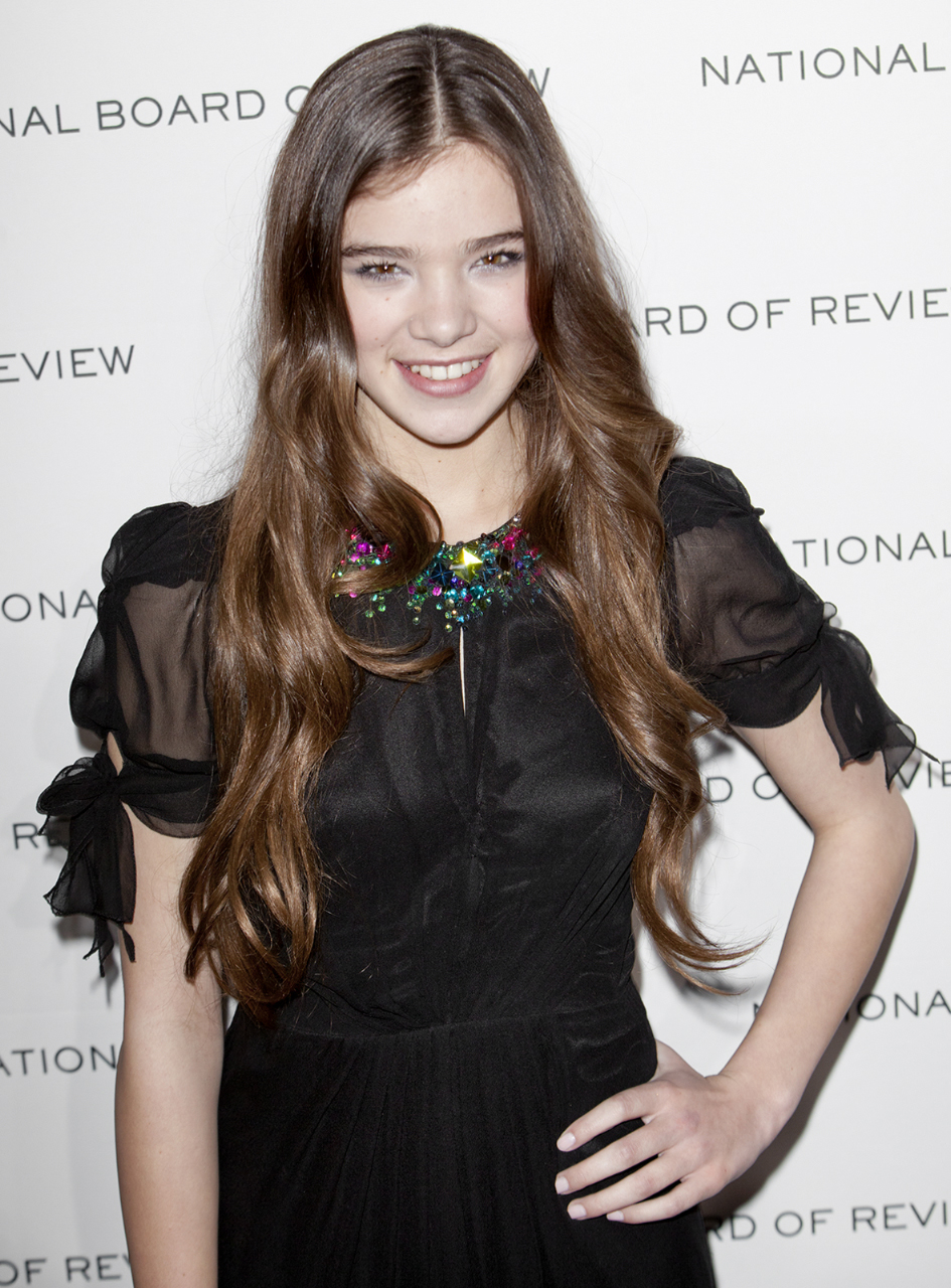 NEW YORK, NY - JANUARY 11: Actress Hailee Steinfeld attends the 2011 National Board of Review of Motion Pictures Gala at Cipriani 42nd Street on January 11, 2011 in New York City.  Photo © www.nathanblaney.com