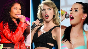 Taylor Swift, Nicki Minaj, Katy Perry and Rihanna and the Twitter War We Have All Been Waiting For