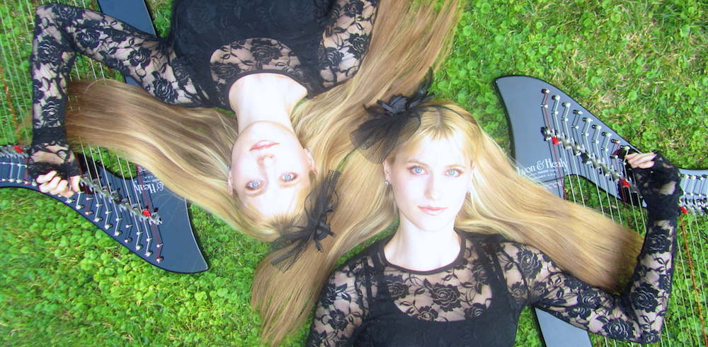 Harp Twins Camille and Kennerly Talk Music, Motivation, and Hard Work